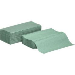 Ręczniki papierowe składane zz kolor zielony