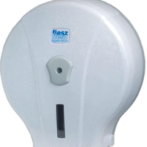 Biały podajnik papieru toaletowego