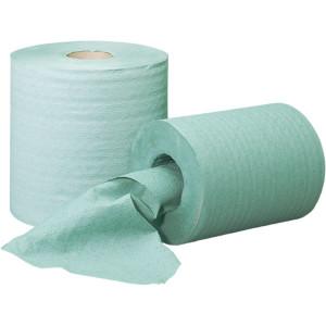 Ręcznik papierowy w rolce zielony