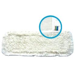 Mop płaski kieszeniowy bawełniany