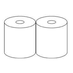Ręcznik Papierowy Czyściwo Maxi przemysłowe 2 rolki pakowanie