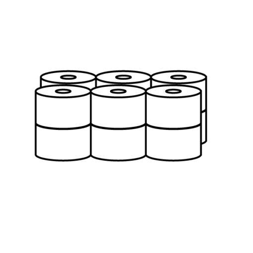 Papier Toaletowy 12 rolek pakowanie