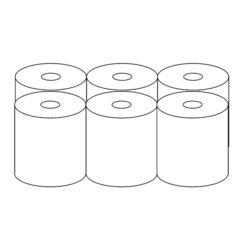 Ręcznik Papierowy Czyściwo przemysłowe 6 rolek pakowanie