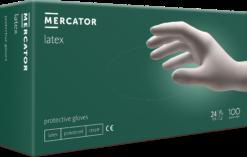 Rękawiczki lateksowe jednorazowe opakowanie 100 sztuk