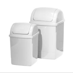 Kosze na śmieci białe