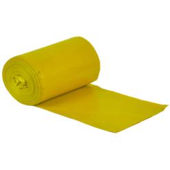 Grube Worki na śmieci żółte