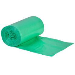 Worki na śmieci zielone