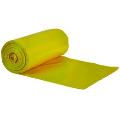 worki na śmieci żółte
